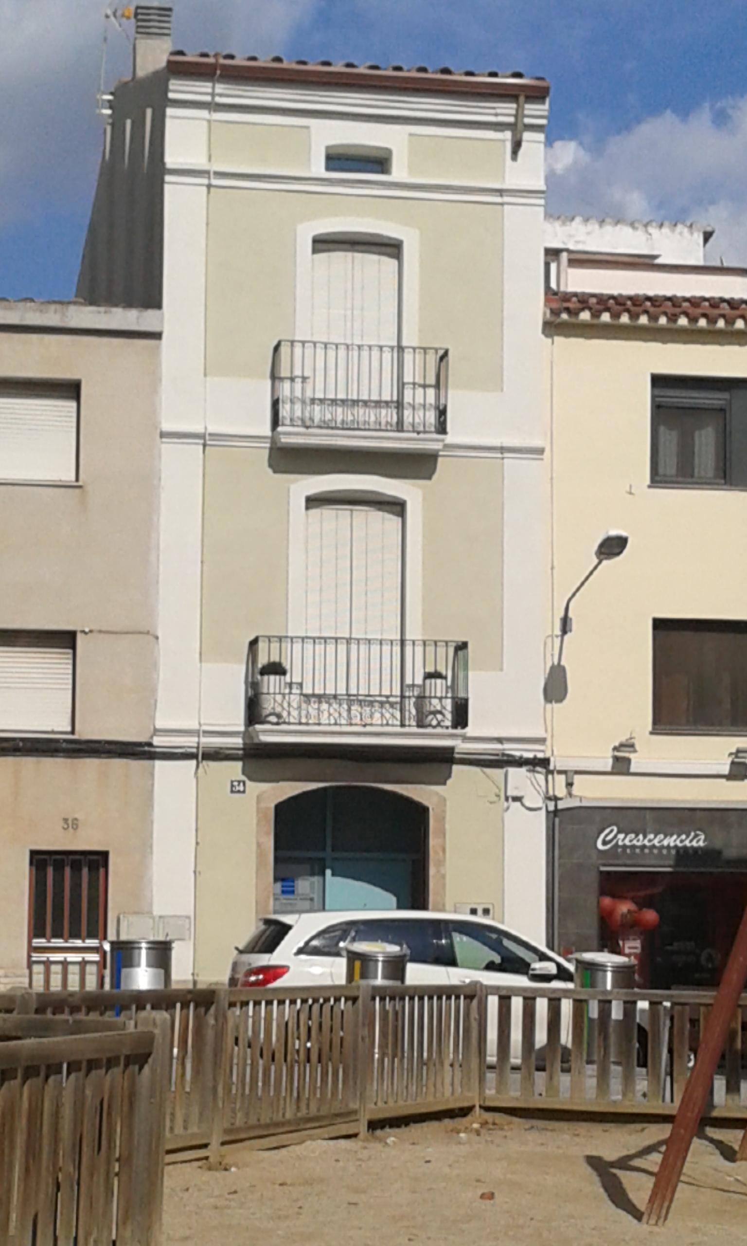 Vivienda unifamiliar fachada – Esparreguera