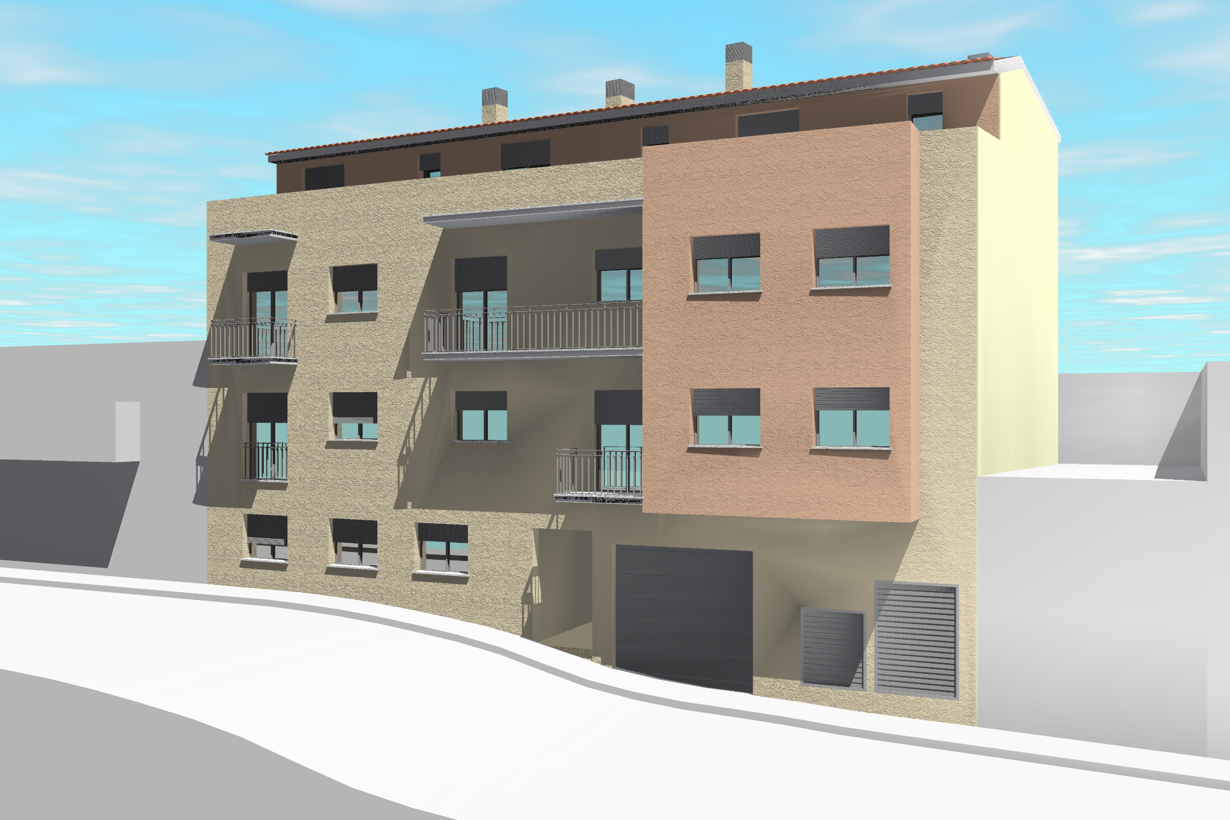 Edificio plurifamiliar – Monistrol