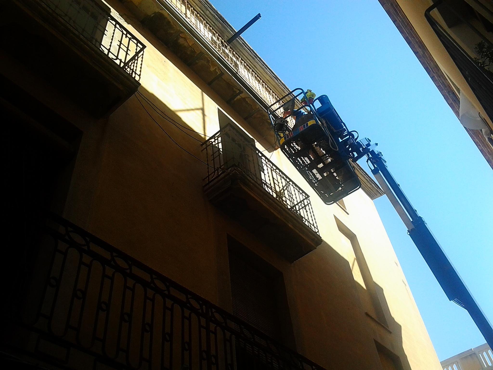 Edificio plurifamiliar fachada – Vilafranca